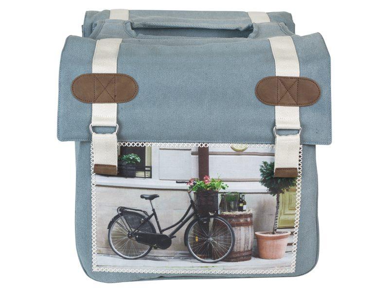 boodschappen fietstassen bruin