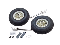 Launching wheels for inflatables