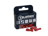 Talamex verbindingstoebehoren: Kabelschoen plat vrouwtje vol gëisoleerd