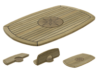 Teak Tafelblad Circle
