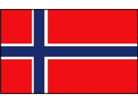 Talamex vlaggen Europa: Noorwegen