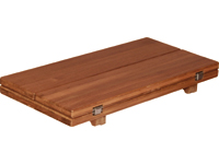 Teak Tabletop Wing Plain