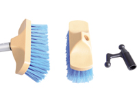 Deck brush set