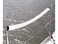 G-nautics Relingdrahtpolster weiß