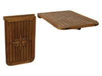 Teak Tischplatte Balcony