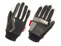 HANDSCHOEN WINDPROOF DAMES ZILVER