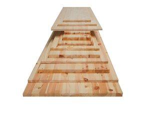 Panelen massief hout