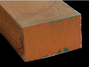 80 x 130 Dark Red Meranti Select & Better PHND ruw