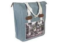 SHOPPER CYCLO BLAUW