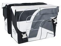 DUBBELE FIETSTAS YOUNG BAG XL ZWART