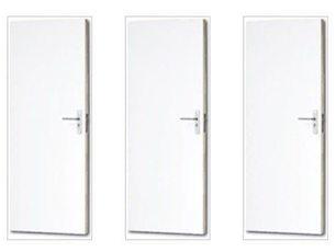 Voorbewerkte Boarddeuren met Spaanplaatvulling  (stomp)