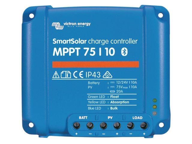 3b. Laadcontrollers Smartsolar MPPT 75/xx en 100/xx
