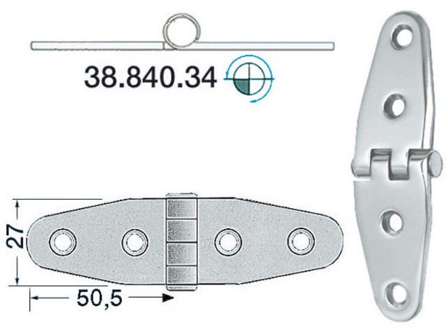 Charnière 2mm Type 15