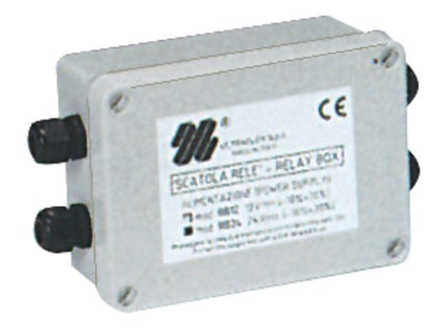 Relais box voor actuators