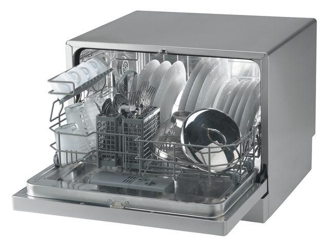 Lave-vaisselle Candy CDCF6 / ES argenté