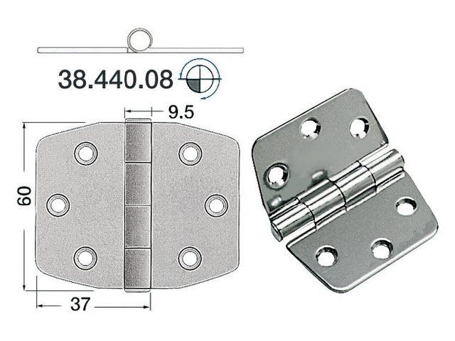 Charnière 2mm Type 11