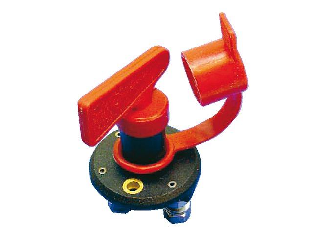 Hoofdschakelaar met rode sleutel 50A continu