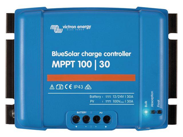 3b. Laadcontrollers MPPT 100/30 en 100/50