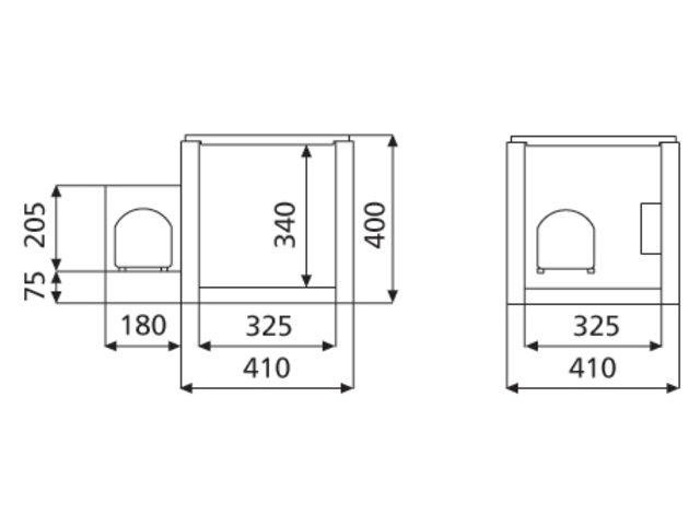 Compresseur intégré Coolmatic CB-36 12/24V