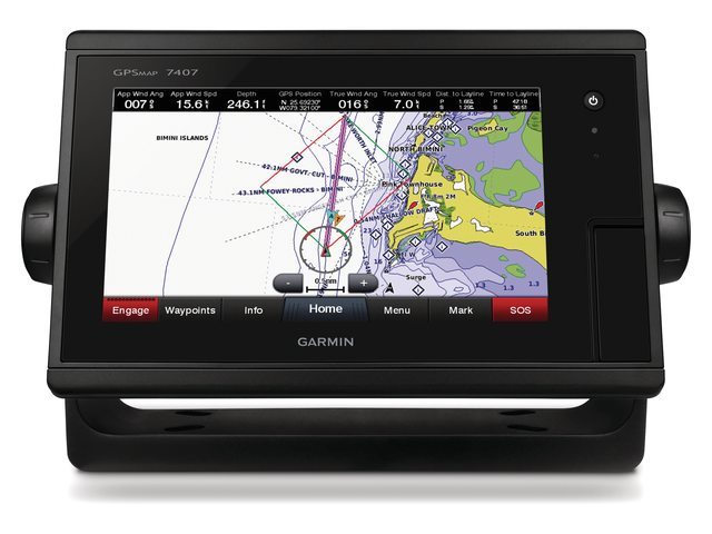 Garmin GPSMAP 74xx serie (touchscreen)