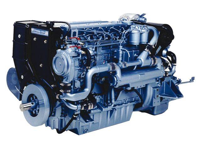 Perkins motoren en onderdelen