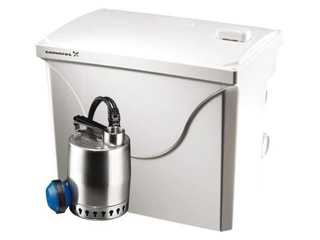 Grundfos douche-afvoerset 230V