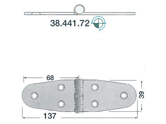 Charnière 2mm Type 9