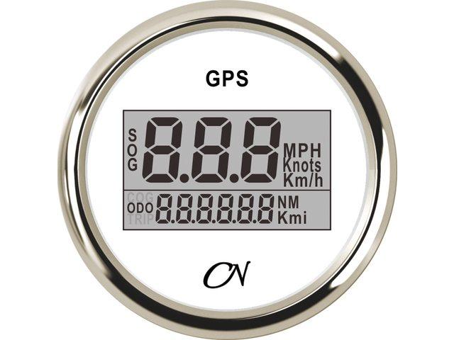 CN GPS snelheidmeters 52mm