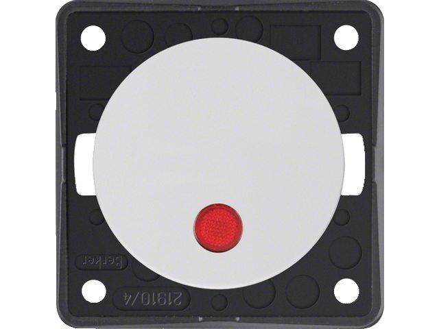 """Controle-uitschakelaar 2-polig met opdruk """"0"""", 12V"""