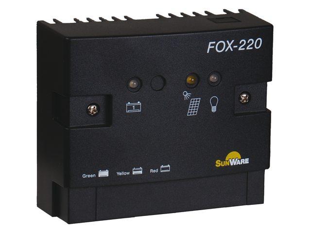 Zonnepaneel regelaar FOX-220 20A 1 accu