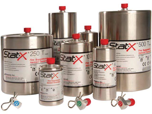 Stat-X avec activation thermique,