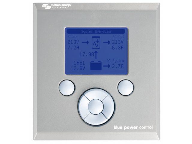 Blue power paneel + batterij monitor