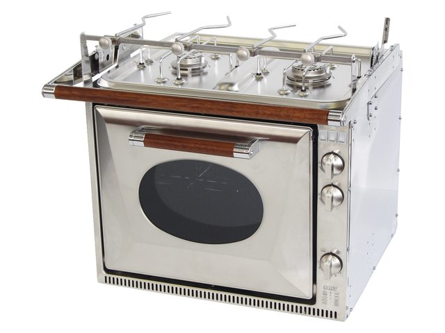 Ovens met 2-pits kookplaat
