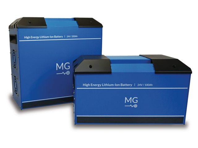 MG Lithium-Ion battery system