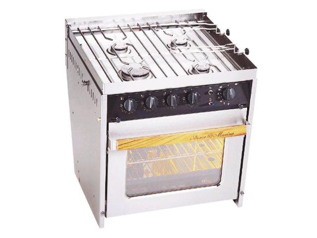 Ovens met 3 of 4-pits kookplaat