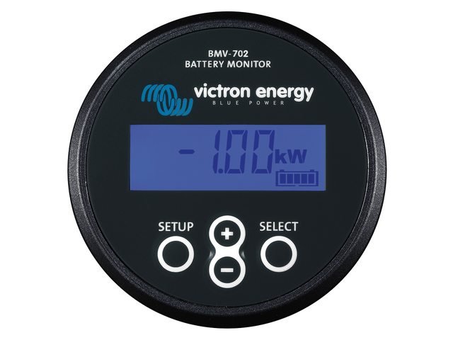 BMV batterij monitoren