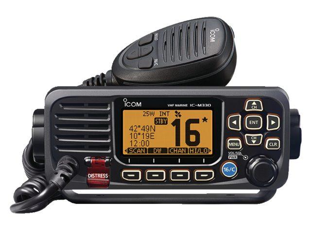 Équipement radio VHF Icom