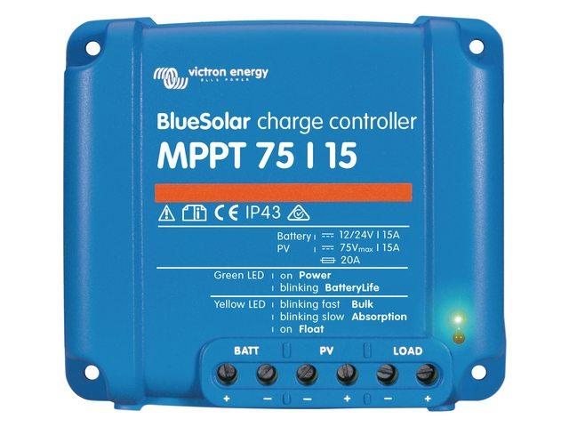 3b. Laadcontrollers MPPT 75/10, 75/15 en 100/15