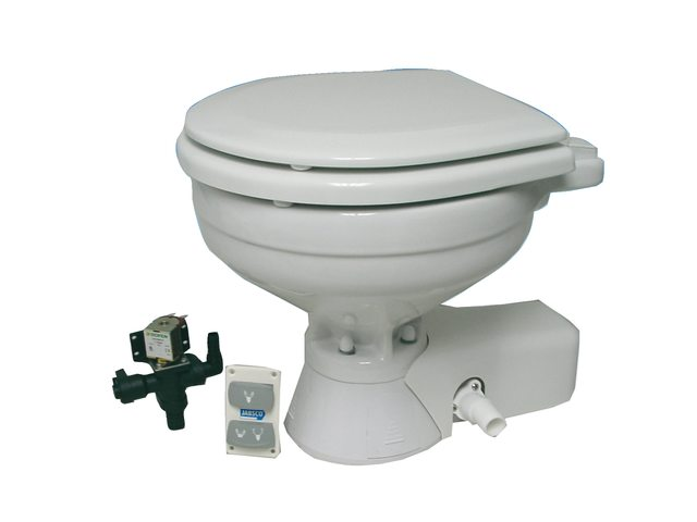 Jabsco toiletten Quiet Flush