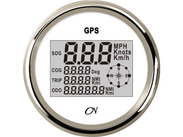 CN GPS snelheidsmeters met kompas 85mm