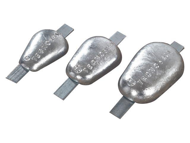 Anodes Tecnoseal type 2 pates en acier