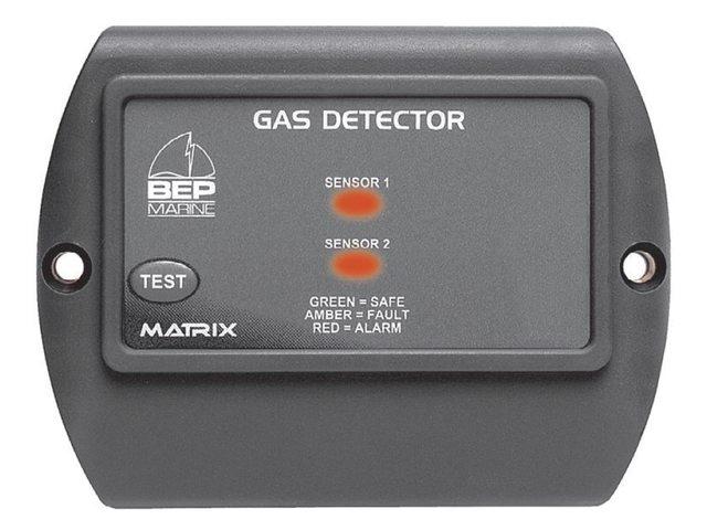 Gasdetector inbouw