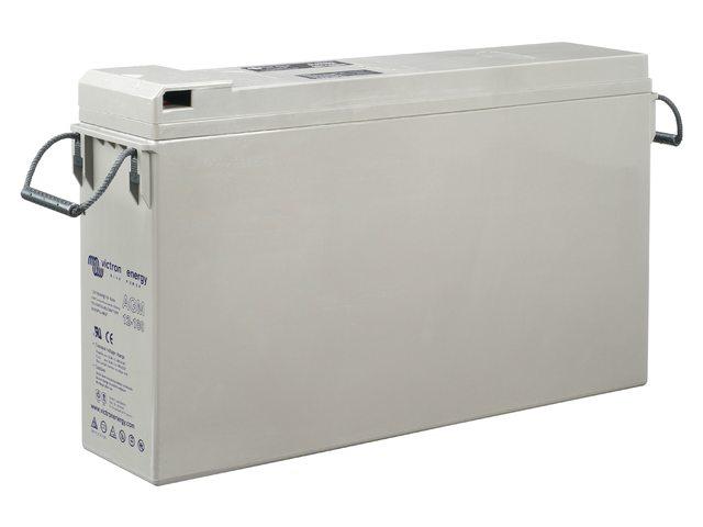 Batteries AGM Tél fournies avec câbles