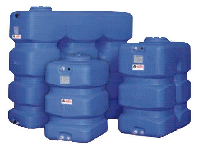 Réservoir de liquide HDPE type CP
