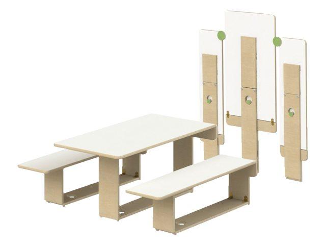 Woodi Opklapbare Tafel PS-TT300