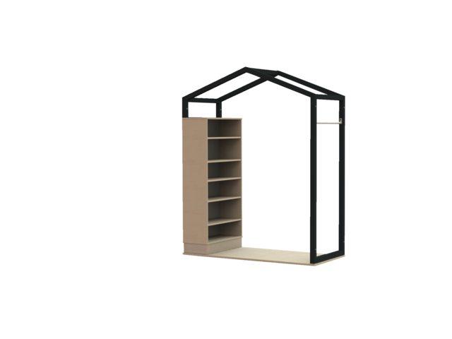 FrameWorks huis met boekenkast
