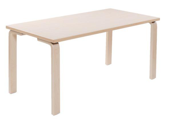 Groepstafel rechthoekig Solid Wood 2.0