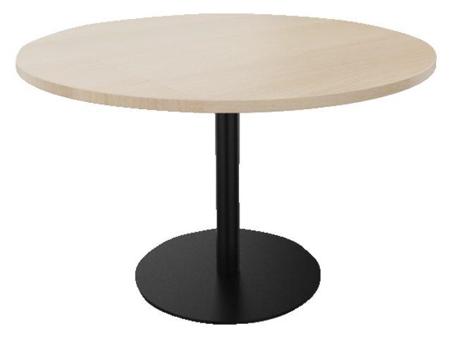 Ronde kolompoot tafel 76 hoog
