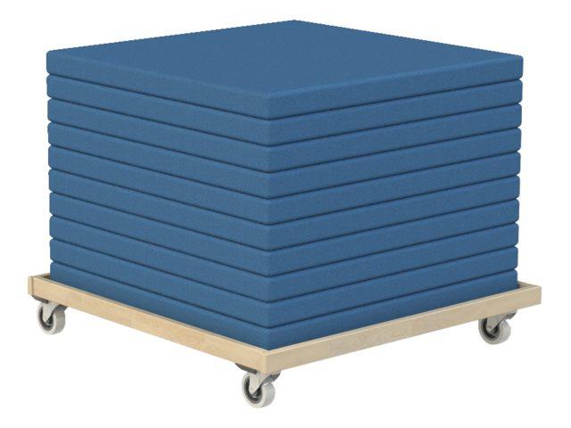 Mattenwagen voor opvouwbare gymnastiekmatten VP11 Woodi