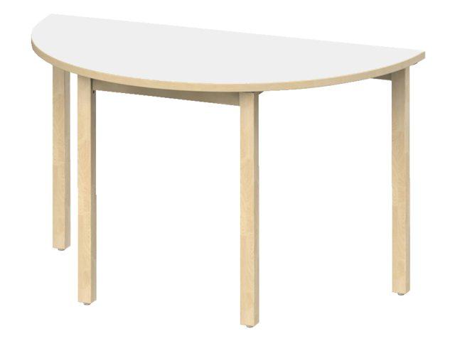 Groepstafel halfrond Woodi PS-S200PP